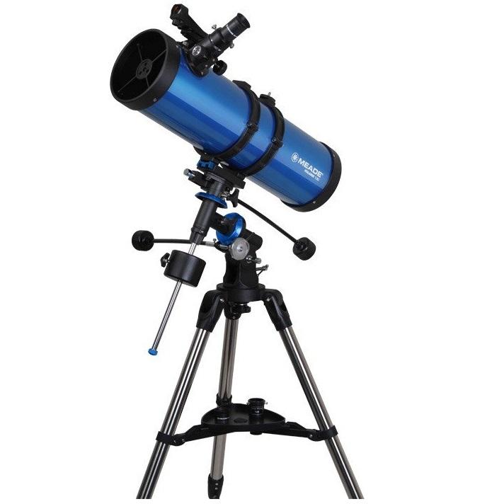 กล้องดูดาวสะท้อนแสงอิเควตอเรียล Meade Polaris™ 130mm German Equatorial Reflector