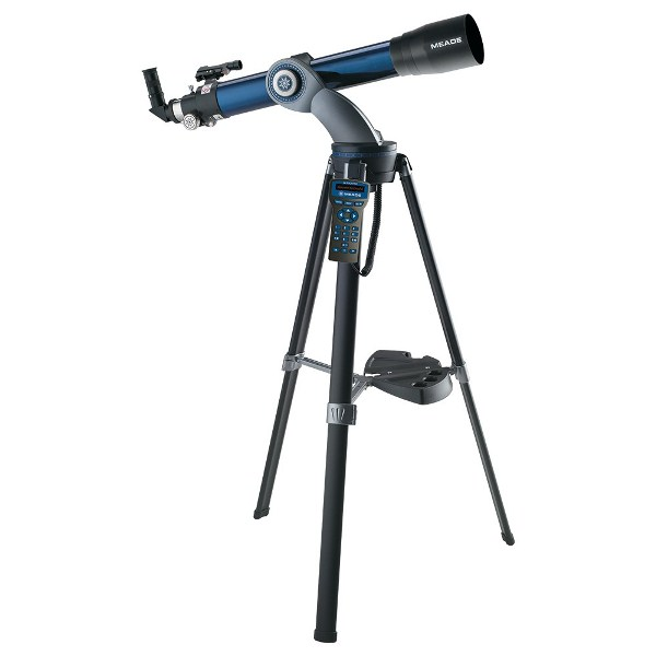 กล้องดูดาวราคาถูก กล้องดูดาวหักเหแสงราคาถูกระบบอัตโนมัติ MEADE StarNavigator 102mm Altazimuth Refractor with AutoStar